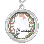 Soft Shoe Dancer - Celtic Knotwork Silver Plated Necklace