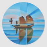 Soft Skies and Cerulean Seas Sticker