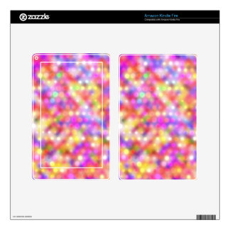 soft sparkling dots (I) Decal For Kindle Fire