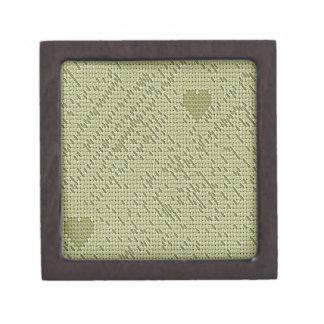 soft stitch beige premium keepsake box