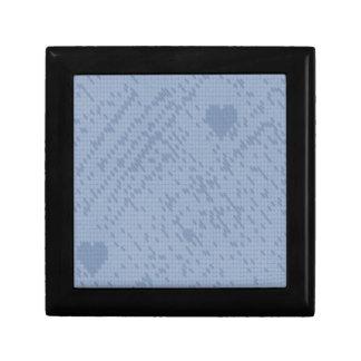 soft stitch blue -love keepsake boxes