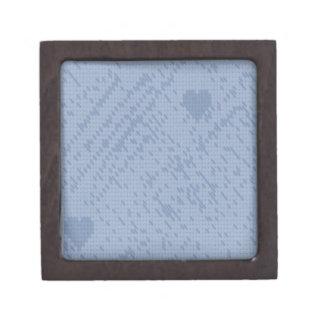 soft stitch blue -love premium keepsake boxes