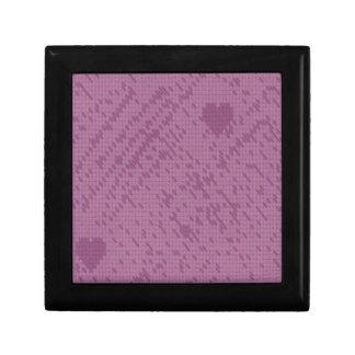 soft stitch pink love keepsake boxes