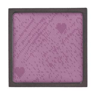 soft stitch pink love premium gift box