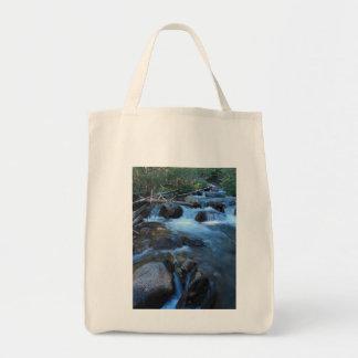 Soft Stream Grocery Tote Bag