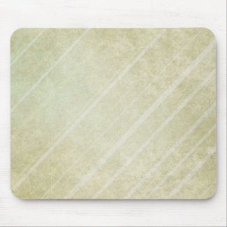 Soft Striped on Green background Mouse Pad