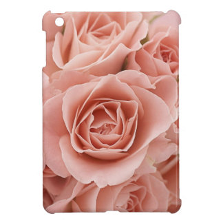 Soft Subtle Pink Roses iPad Mini Case