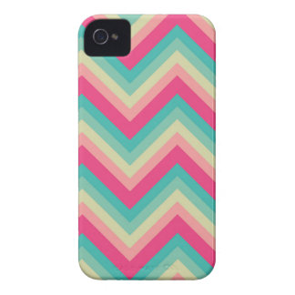Soft Summer Chevrons iPhone 4 Covers