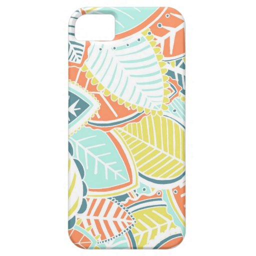 Soft Summer Leaves iPhone 5 Cover