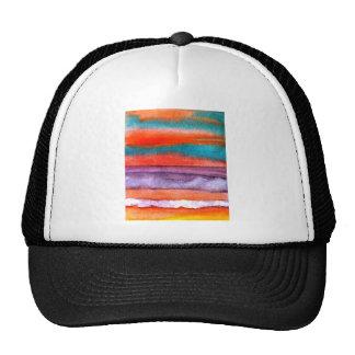 Soft Sun Play Beach Sunset Ocean Waves Art Trucker Hat