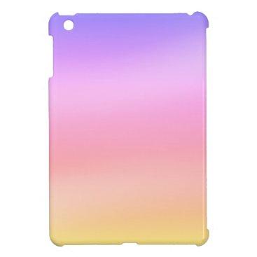 soft sunset case for the iPad mini