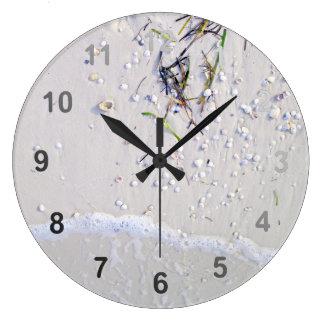 Soft Surf Large Clock