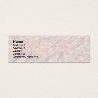 Soft Swivals Mini Business Card