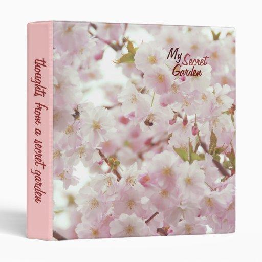 Soft Tones, Cherry Blossoms Vinyl Binders