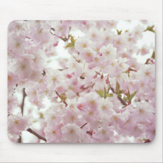 Soft Tones, Cherry Blossoms Mouse Pad