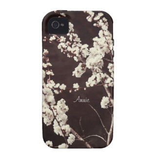 Soft Tones Cherry Blossoms Vibe iPhone 4 Cases