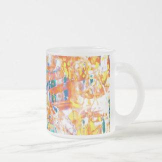 soft tones color palette mug