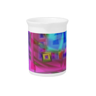 soft touch beverage pitcher