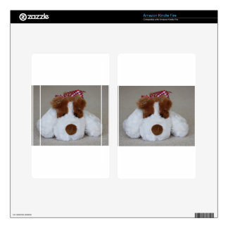 Soft Toy Puppy Kindle Fire Decal