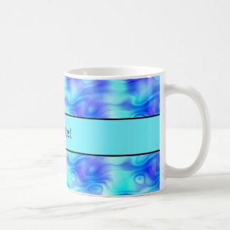 Soft Tropical Swirls Coffee Mug