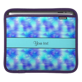 Soft Tropical Swirls Sleeve For iPads