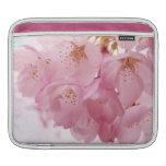 Soft Vintage Pink Cherry Blossoms iPad Sleeve