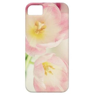 Soft Vintage Pink Tulips iPhone SE/5/5s Case