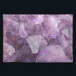 """Soft Violet Amethyst Placemat<br><div class=""""desc"""">Soft Violet Amethyst</div>"""