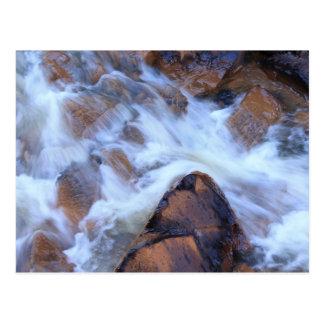 Soft Water Flow Postcard
