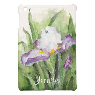 Soft Watercolor Iris iPad Mini Case