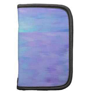 Soft Watercolor purple and turquoise Planner