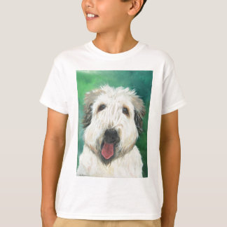 Soft Wheaton Terrier dog images T-Shirt