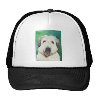 Soft Wheaton Terrier dog images Trucker Hat