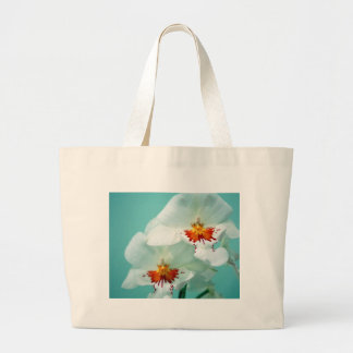 Soft White Orchids Tote Bag