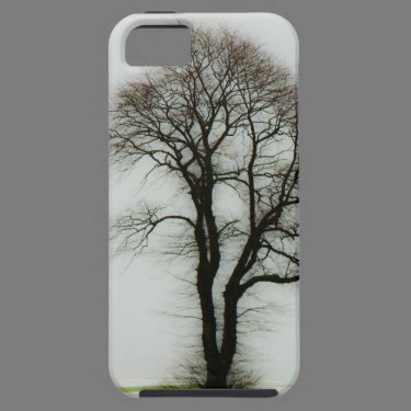 Soft winter tree iPhone 5 covers
