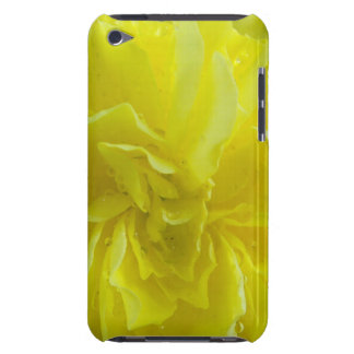 soft yellow begonia flower petals. barely there iPod cases