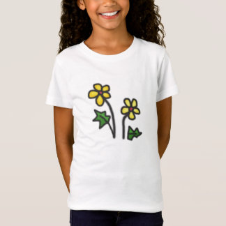Soft Yellow Flower T-Shirt