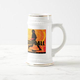 softball103 beer stein