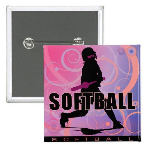 softball104 2 inch square button
