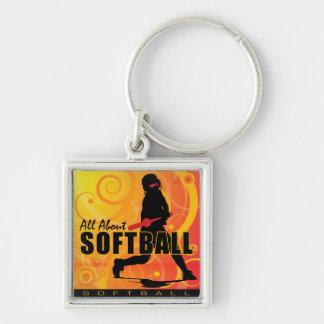 softball106 key chain