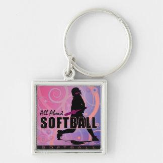softball107 key chains