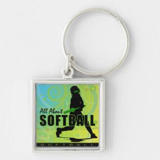 softball108 keychain