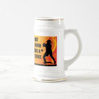 softball109 beer stein