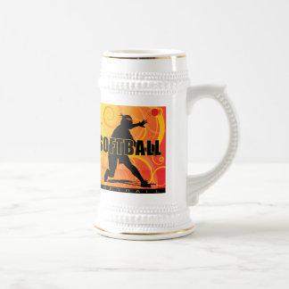 softball13 beer stein