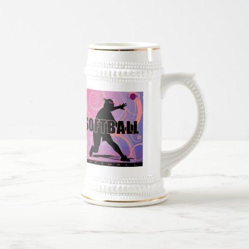 softball14 jarra de cerveza