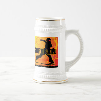 softball28 beer stein