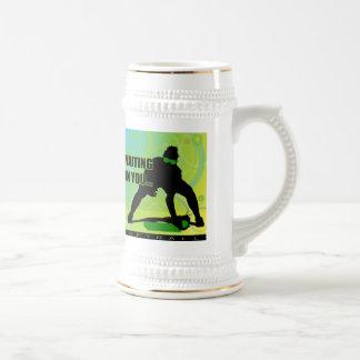 softball45 beer stein