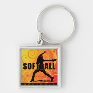 softball4 key chain