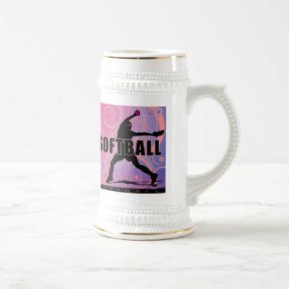 softball5 beer stein