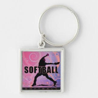 softball5 keychains